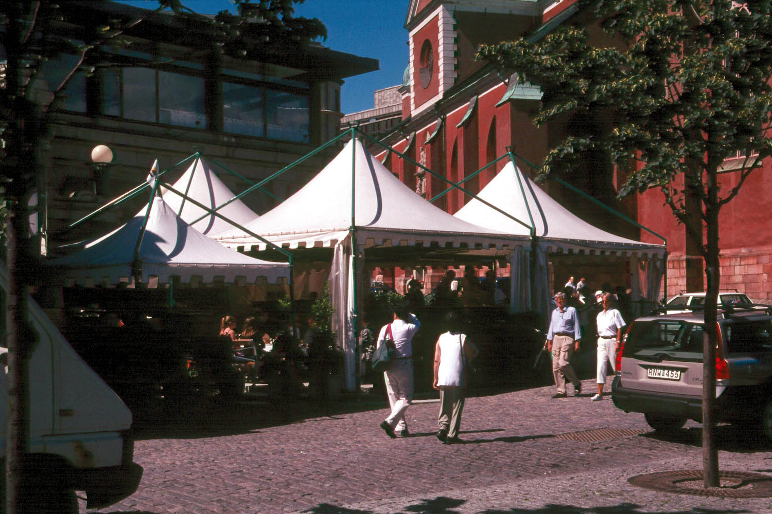 Las Vegas has recently used a tent to create an environment covering their  main street.  & Tents u0026 Awnings