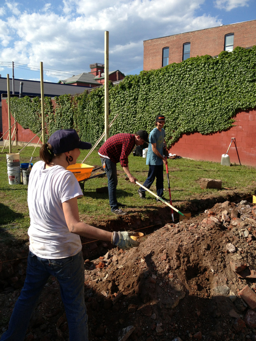 Volunteers & Deeplocal staff worked together to prepare the space / Photo: Deeplocal
