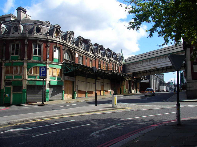 London's historic Smithfield Western buildings are in danger of