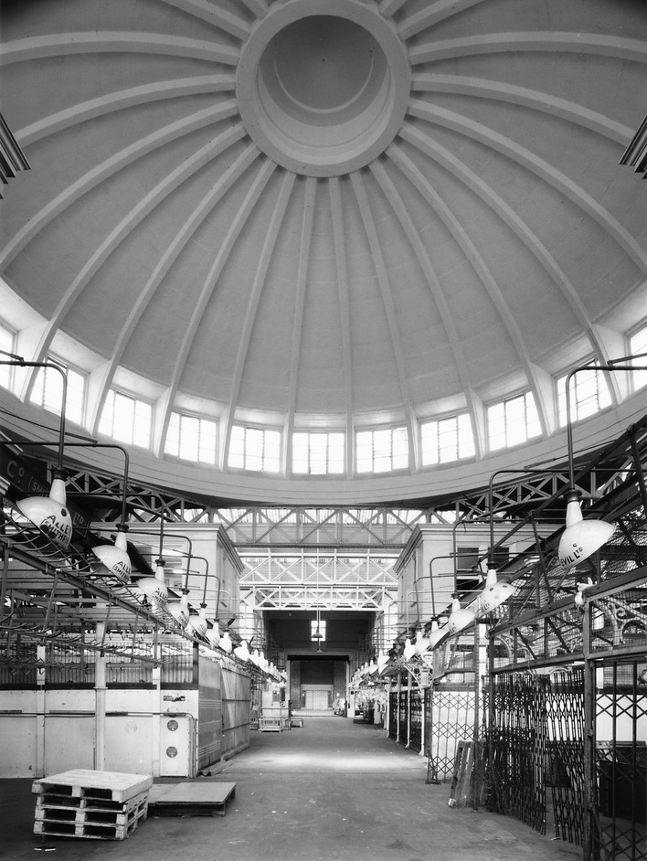 The Smithfield Western buildings' soaring interior would be destroyed for office blocks in a new plan / Photo: David K. O'Neil