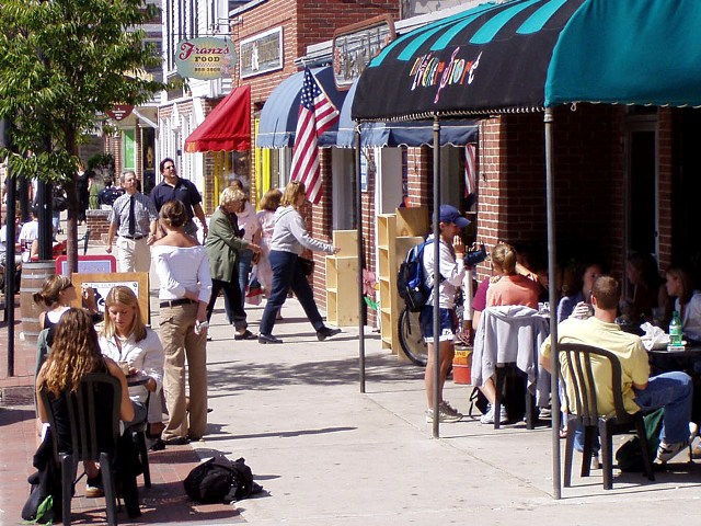 """Walkable communities are the key to a strong American Third Century."" / Photo: PPS"