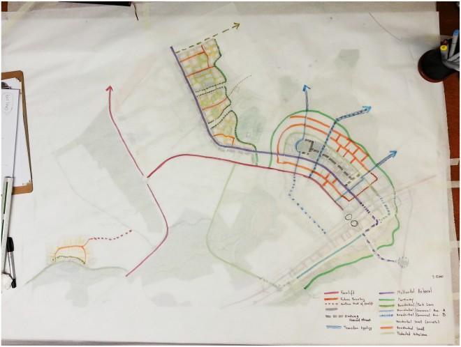 Street Grid to serve Fazenda Paranoazinho