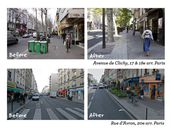 Paris streets before after copy