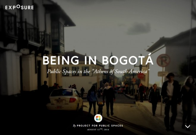 Bogota Exposure screenshot