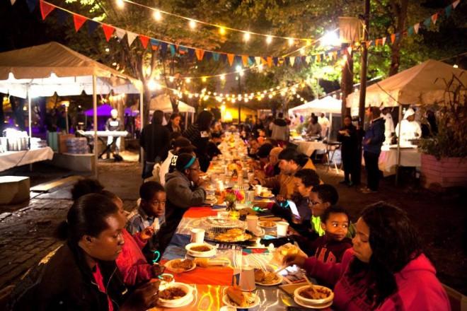 Camden Night Gardens Banquet