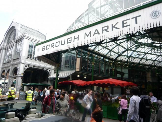 Borough Market - Sign