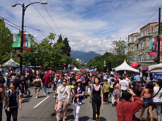 Italian Day 2014 on Commercial Drive in Vancouver | Photo by Paul Krueger via Flickr Creative Commons