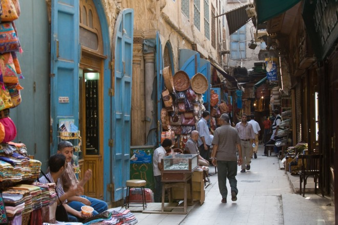 Khan El Khalili in Cairo is a market that inspires us to make the best out of urban alleyways - Image by Stephen Friday