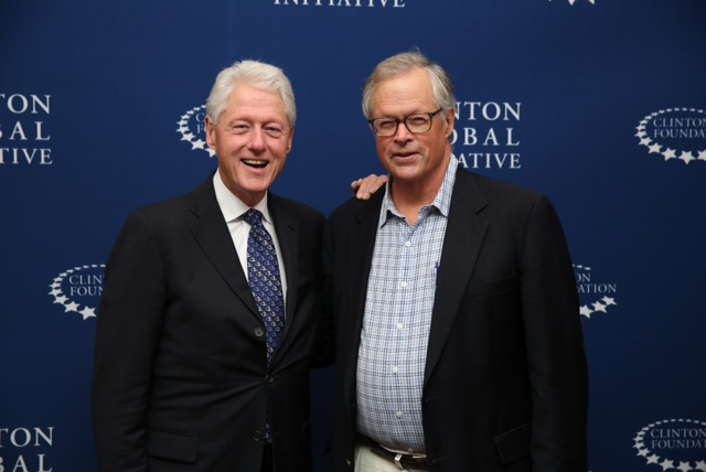 Photo via Clinton Global Initiative